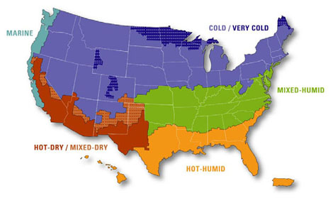Free Printable Maps: Climate Maps United States and Canada | PrintFree