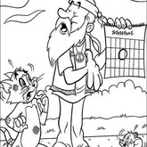 Tom and Jerry Coloring Page 27